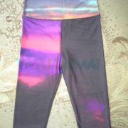 Women's High waist 3/4 legging, sublimation printing