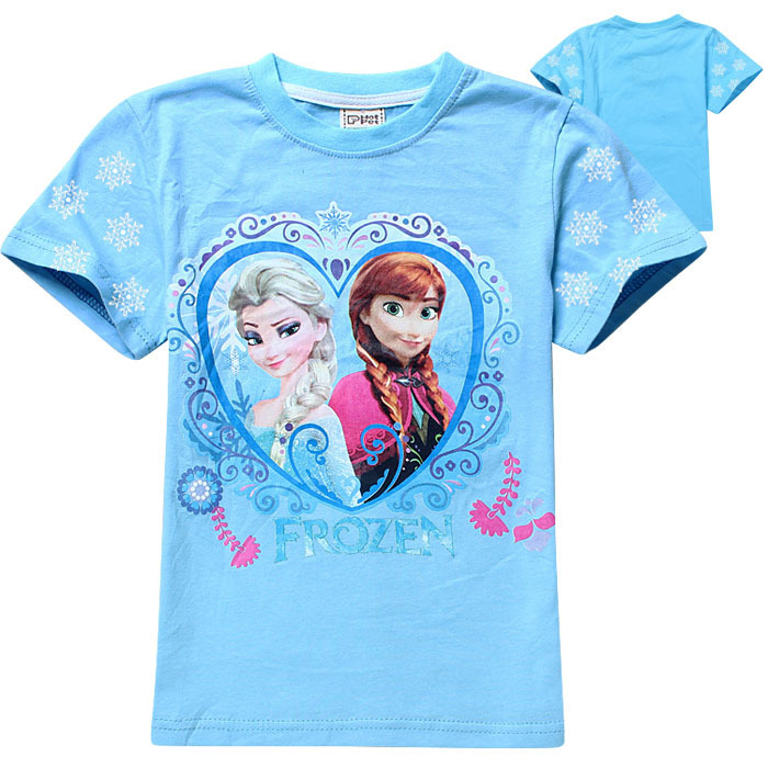 Disney Girls' Frozen Anna and Elsa T-Shirt. by Disney. $ - $ $ 10 $ 17 95 Prime. FREE Shipping on eligible orders. Some sizes/colors are Prime eligible. 4 out of 5 stars Product Features Long-sleeve t-shirt featuring glitter Frozen graphic on front. Disney Little Girls .